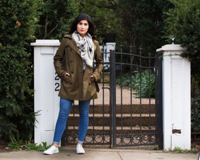 Street style Trench 3