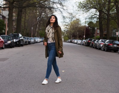 Street style Trench 1