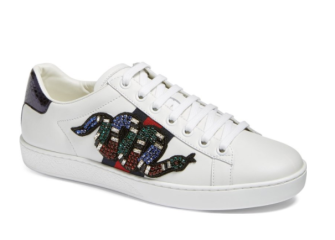 Gucci New Age Snake Embellished Sneaker